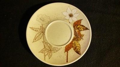 Mikasa Indian Feast, Saucer, Alpine Meadow Pattern # DE 865