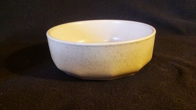 Mikasa Indian Feast, Soup - Cereal Bowl, Speckled Biscuit Pattern # DE 850