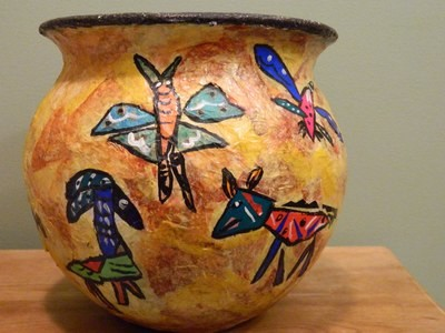 Signed original art pottery