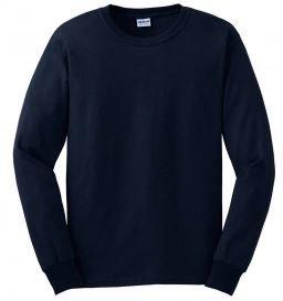 Gildan Long Sleeve Tshirt with Front Logo