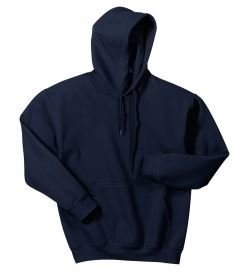 Gildan Hooded Sweatshirt with Front Logo