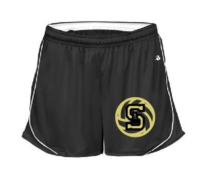 Badger shorts w/ embroidered logo