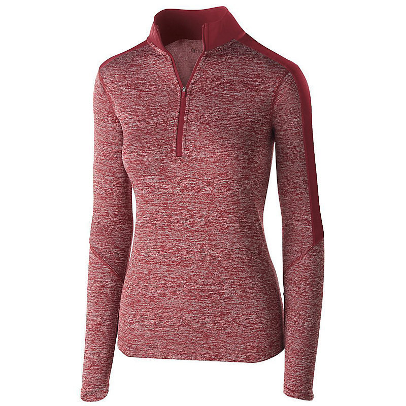 Holloway Ladies Electrify 1/2 Zip with embroidered logo