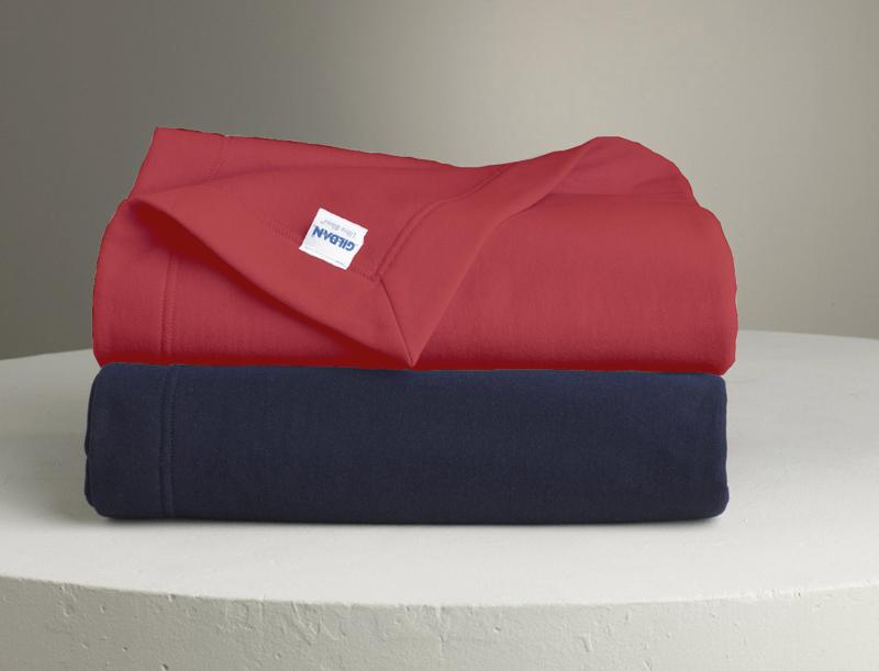 Gildan Dry-Blend Fleece Stadium Blanket with Embroidered Logo