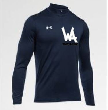Under Armour 1/4 Zip with embroidered Logo
