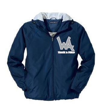 San Mar Hooded Jacket with logo