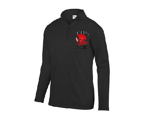 Augusta Wicking Fleece Pullover with Embroidered Logo