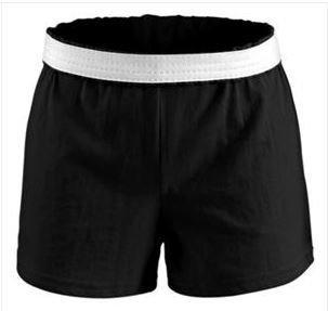 Soffee Black Shorts 2.5 inch inseam
