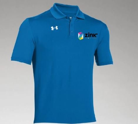 Under Armour Team Polo w/ embroidered Logo