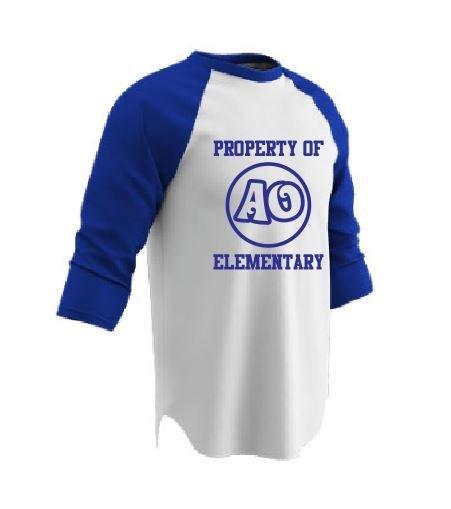 Champro 3/4 Sleeve Baseball Shirt w/screened logo