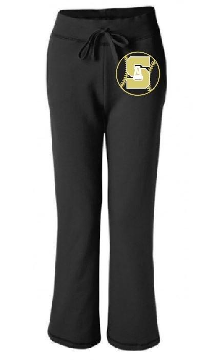 Gildan Pocketed Open Leg Sweats w/screened logo