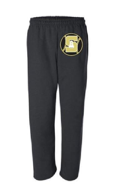 Gildan Dry Blend Pocketed Open Leg Sweats w/screened logo