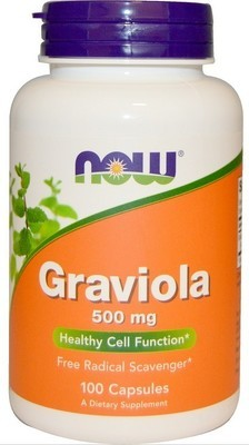 Graviola 500mg -100kpl, Immune Support, Positive Mood State. ALE -15%