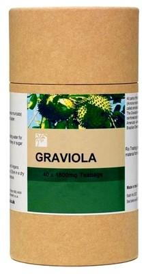 Graviola - Rio Amazon, 40 x 1800 mg teabags