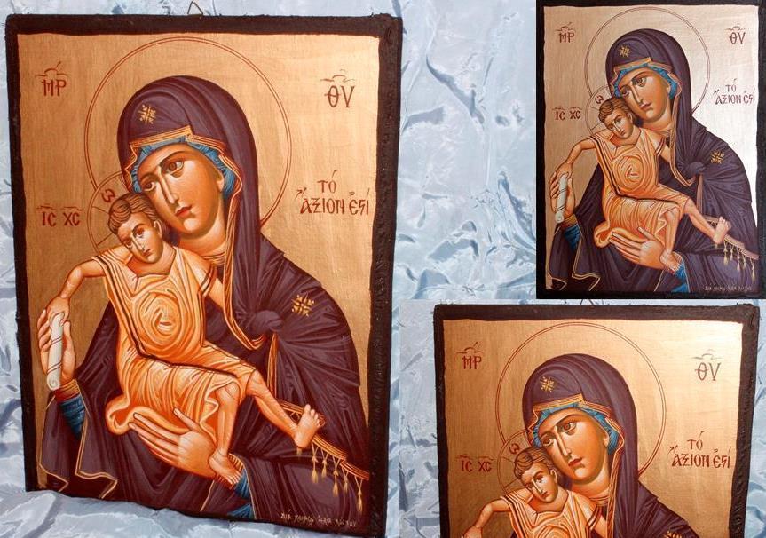 Παναγία Άξιον Εστί (40x30) 002
