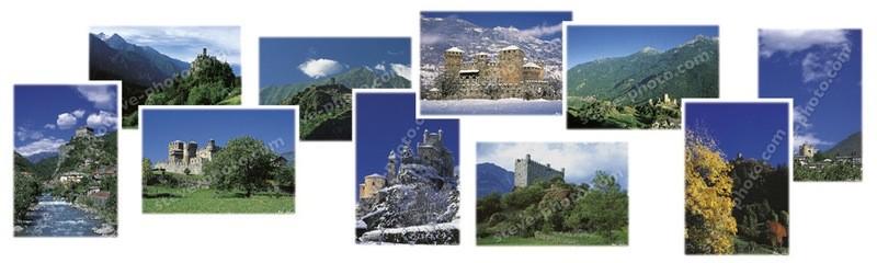 Castelli della Valle d'Aosta - Cofanettto 01