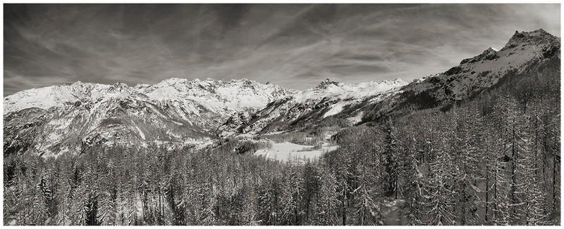 Valtournenche invernale