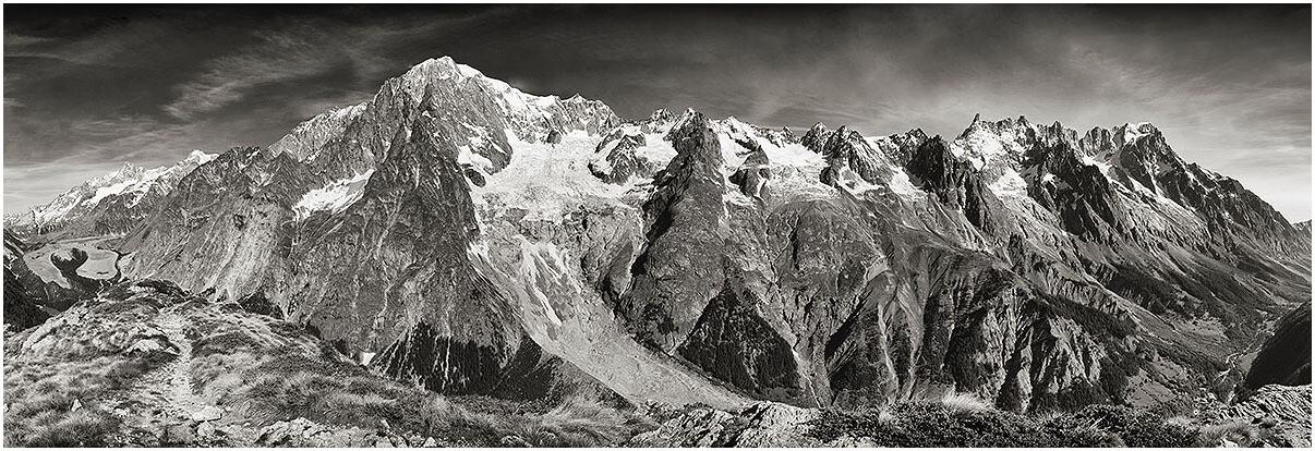 Monte Bianco - veduta centrale