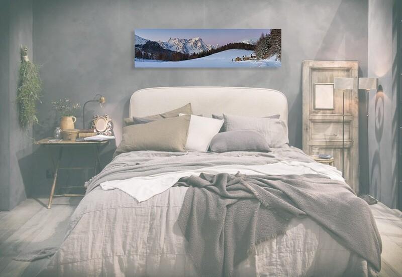 Petosan - La-Thuile - tramonto pastello