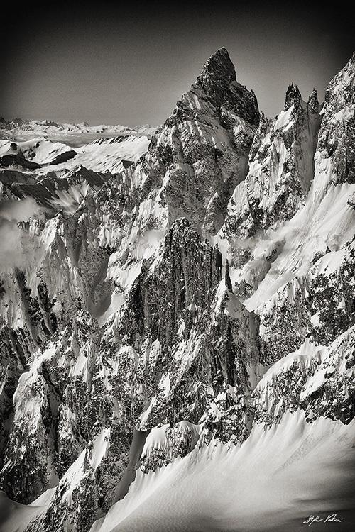 Aiguille Noire Peuterey  e Les Dames Anglaises - Courmayeur - Monte Bianco