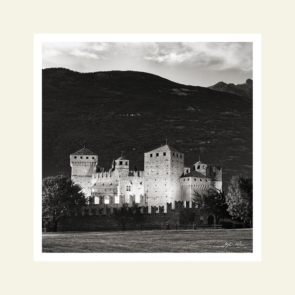Castello di Fenis - notturna