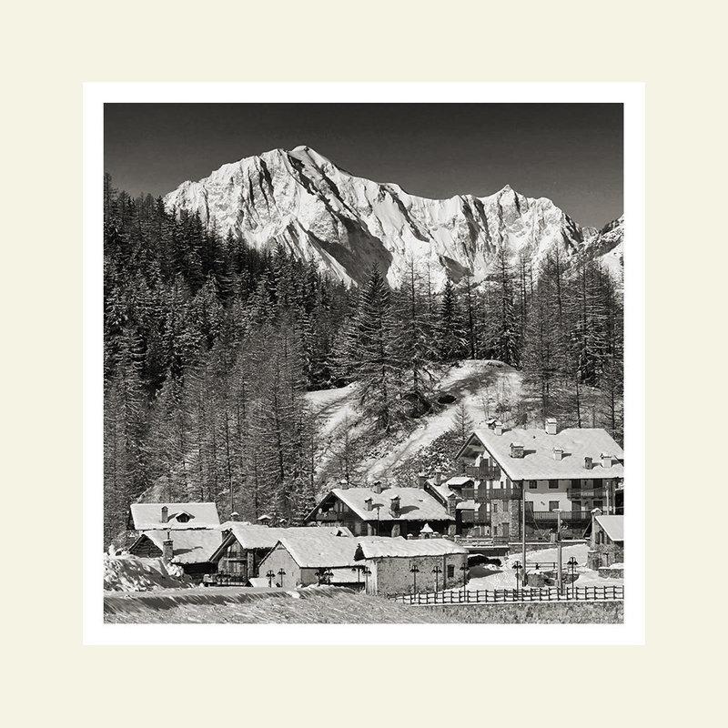 Champlong - Cogne - sullo sfondo il Monte Bianco