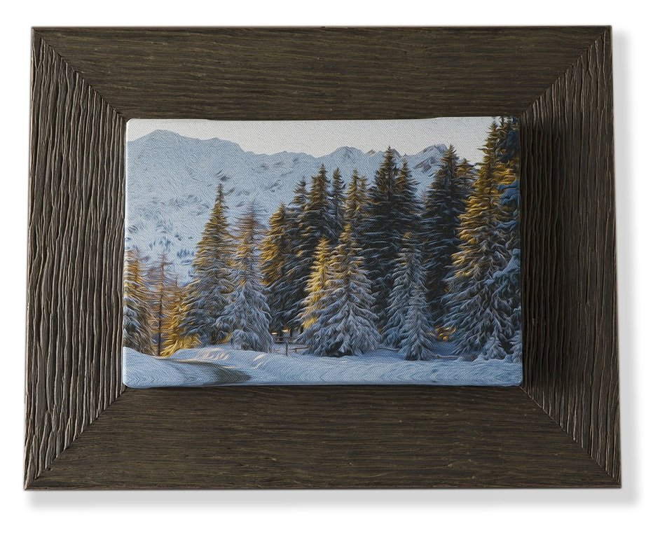 Valle d'Aosta - Alba sulla neve