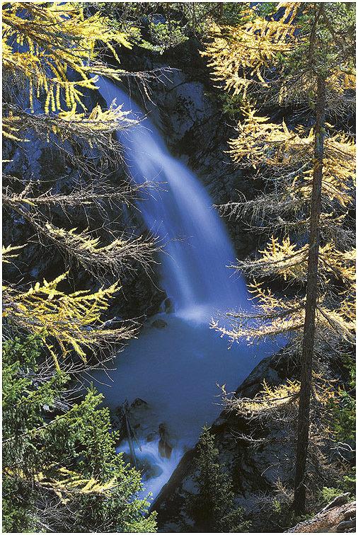 Prima cascata di La Joux - La Thuile