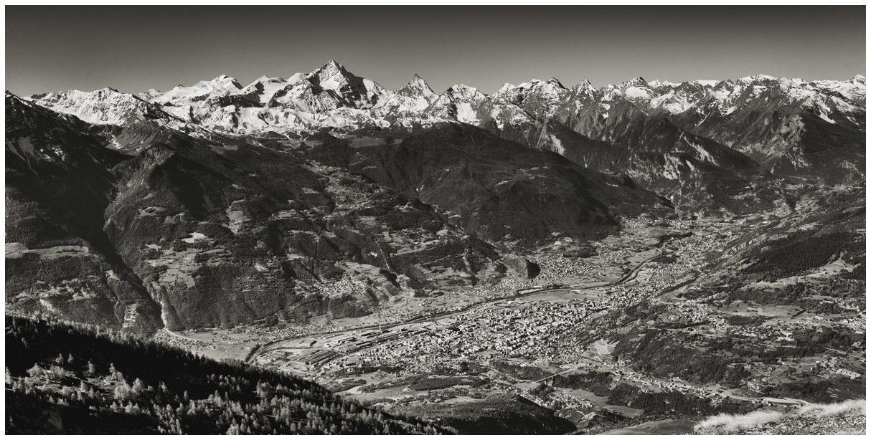Aosta e le sue montagne