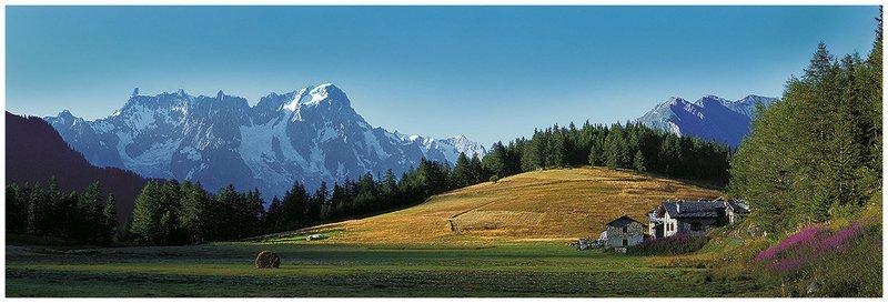 Petosan - La-Thuile - Monte Bianco - Grandes Jorasses