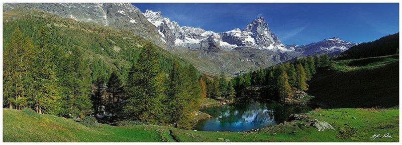 Lago Blu - Cervinia - Valle d'Aosta
