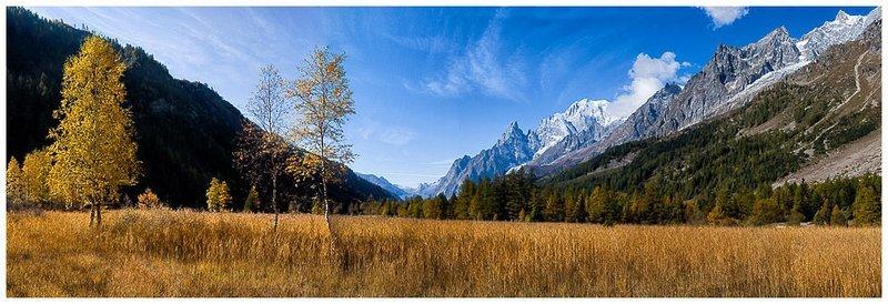 Autunno in Val Ferret - Courmayeur - Monte Bianco - Valle d'Aosta