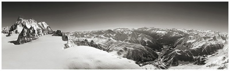 Dente del Gigante - Monte Bianco - Punta Helbronner