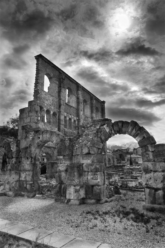La rappresentazione della cultura classica - Teatro romano - Aosta