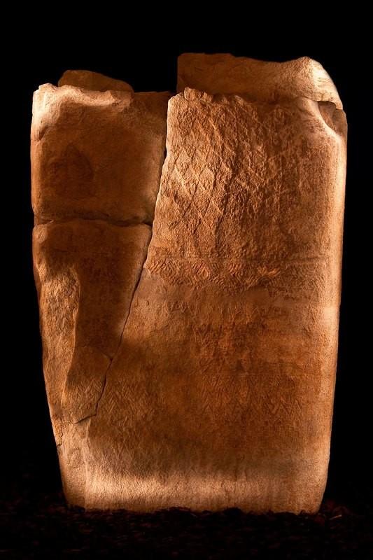 Alle origini - Stele antropomorfa del III millennio a.C. - Valle d'Aosta