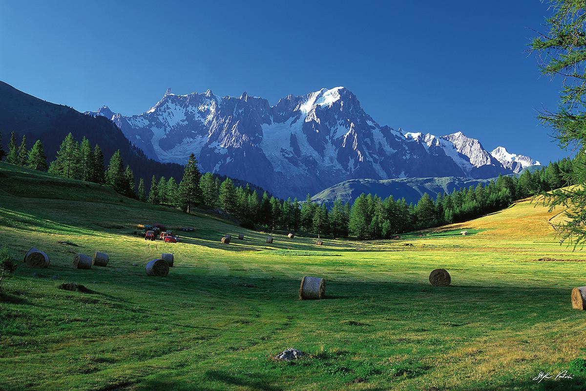 Monte Bianco - Grandes Jorasses - La-Thuile - Petosan - Valle d'Aosta