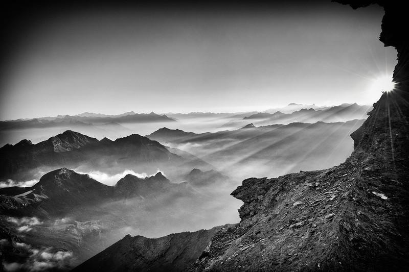 Tramonto dalla Testa Grigia, Ayas - Valle d'Aosta