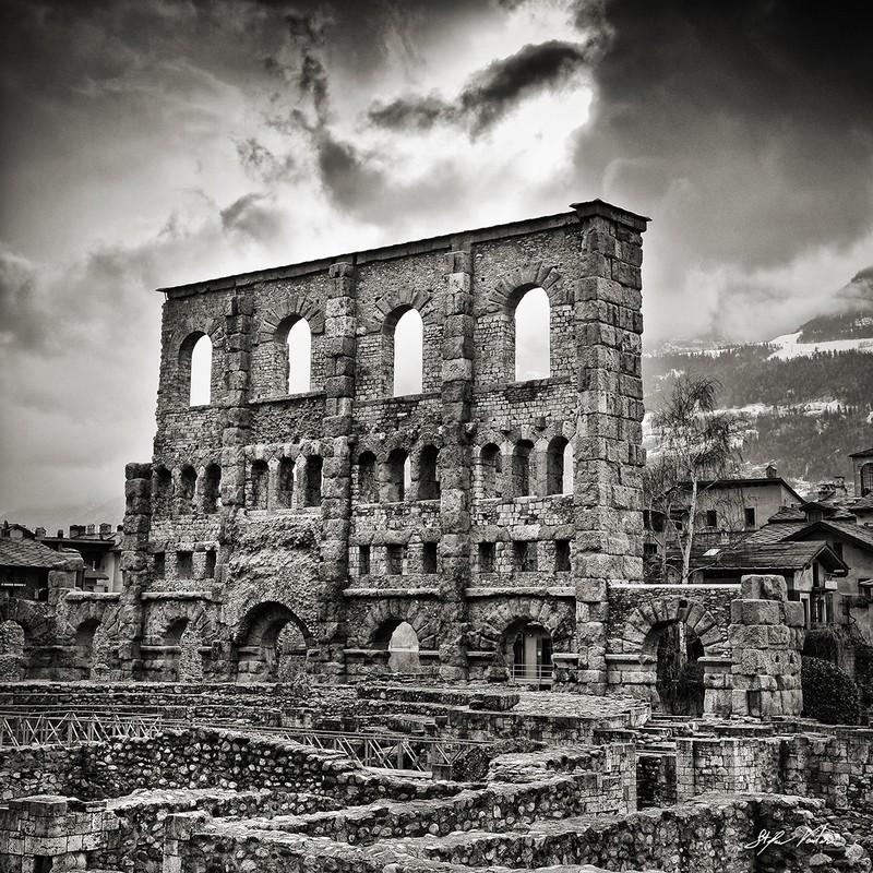 Teatro Romano - Aosta