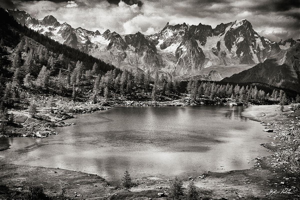 Lago d'Arpy - Morgex - La-Thuile - Monte Bianco - Dente del Gigante