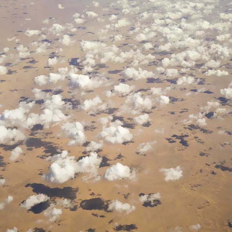 Clouds on the Sahara