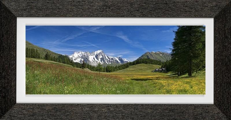 primavera a Petosan - La Thuile - Monte Bianco