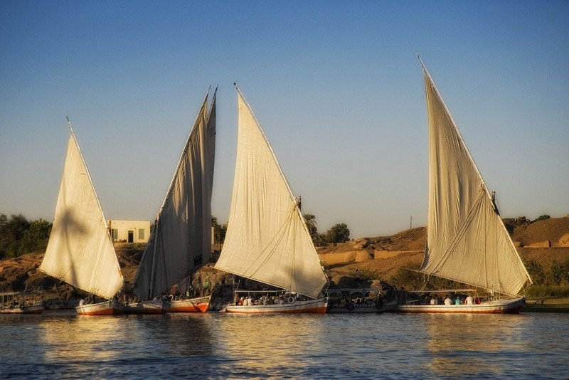 Feluca on the Nile - Aswan - Egypt