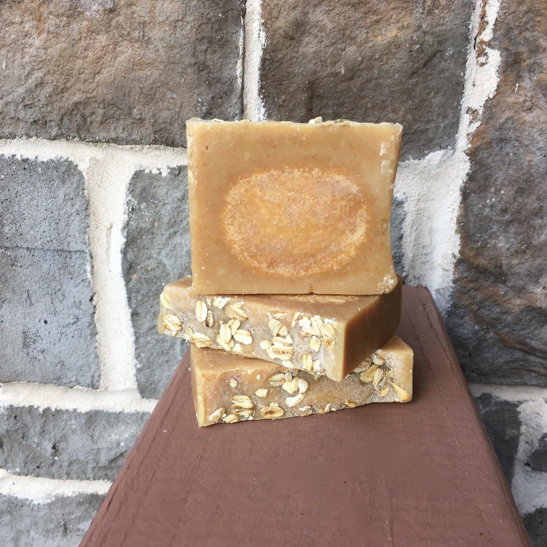 Honey Oatmeal Soap with buttermilk - Oatmeal Soap - Honey Soap