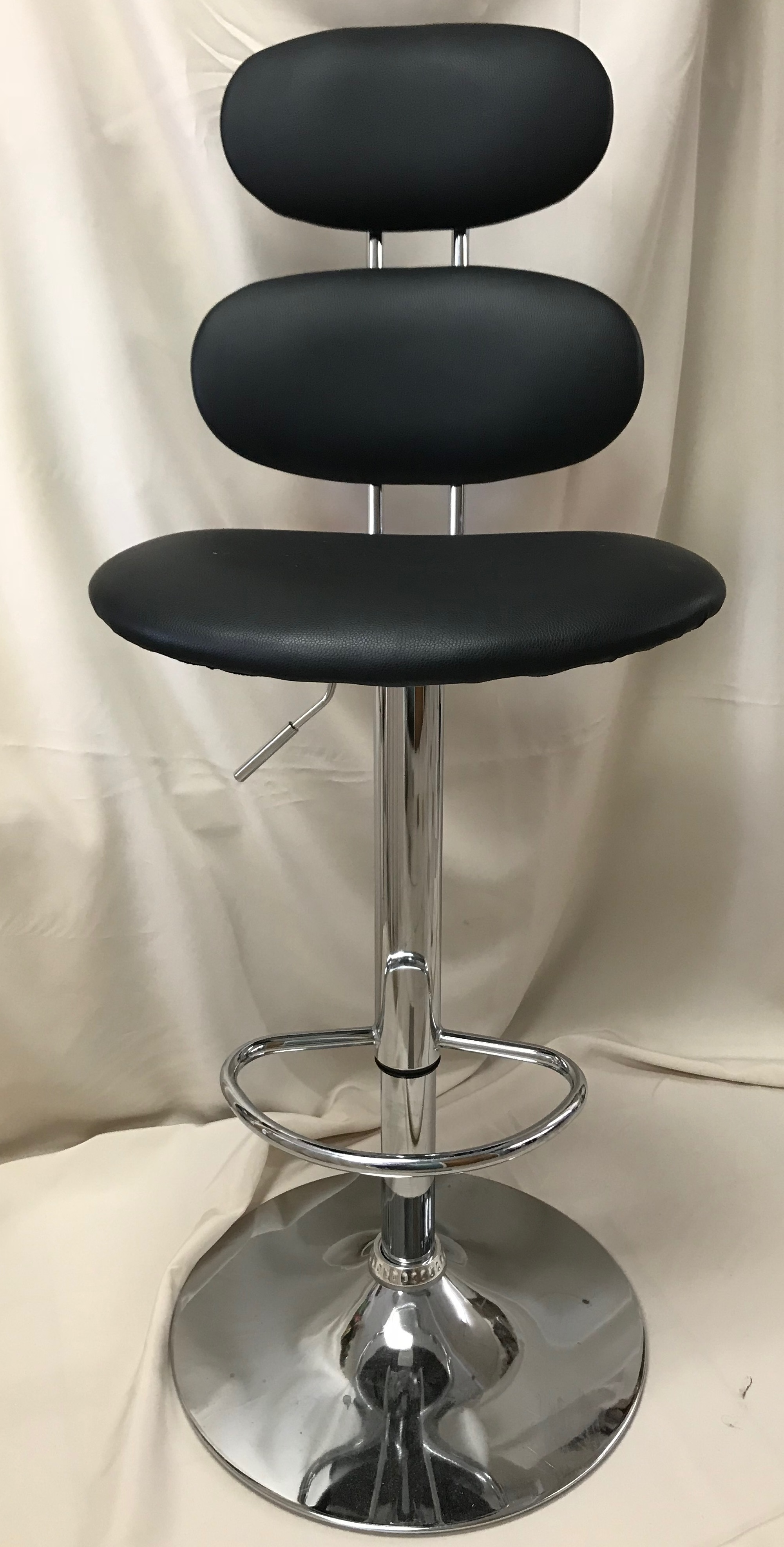 Bar Stool With Back Adjustable Height 00987