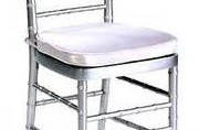 Chiavari Cane Chair Pad - White