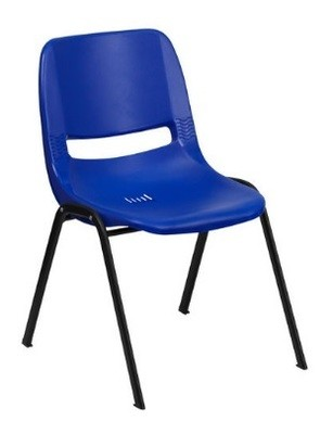 Blue Childrens Stacking Chair