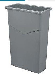 Tall Slim Trash can