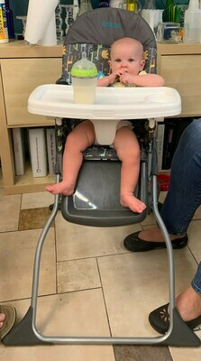 Folding High Chair w/ Tray