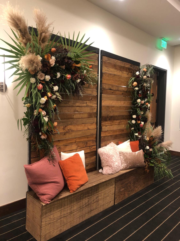 Wood Screen Wall