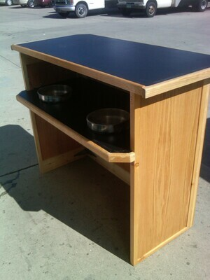 Bar Portable wood Formica Top 4 ft